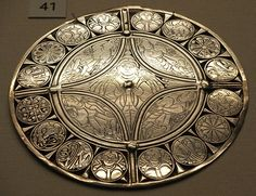 The Fuller Brooch, an Anglo-Saxon silver and niello brooch dated to the late 9th century.