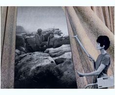 Martha Rosler - Cleaning the drapes
