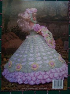 barbie crochet ball gown patterns free | Crocheted Doll Dresses