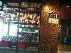 Best Bar to Chill - Art Bar At Downtown Grand via Las Vegas Weekly 2014