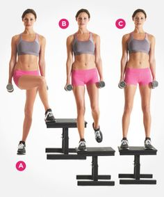 If you still think that doing crunches will score you amazing abs, you're in for a rude awakening. Instead, try these abs exercises for a flat stomach Step Up Workout, 6 Pack Abs Workout, Workout For Flat Stomach, Abs Workout For Women, Belly Fat Workout, Body Workouts, Workout To Lose Weight Fast, Weight Loss Workout Plan, Yoga Routine