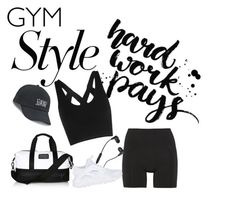 """""""Gym"""" by lauralydix on Polyvore featuring Lucas Hugh, adidas, Skullcandy, NIKE and SO"""