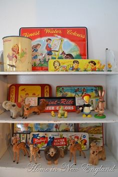old toys...will definitely be finding my future littles as many vintage toys and games as possible!