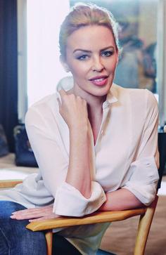Kylie Minogue April 2014
