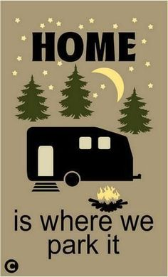 You don't have to be old, retired or rich to be a full-timer! #RV #home www.riversendcampground.com