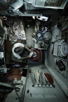 Hongkong - living in a closet - Benny Lam