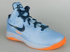 NIKE KD V PS NEW Boys Girls Kids Squadron Ice Blue Basketball Shoes 555642 400