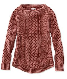 Signature Cotton Fisherman Tunic Sweater Xsmall, $99, 20% off with ...