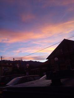 Bello atardecer en Pancar - Llanes -Asturias -Spain .