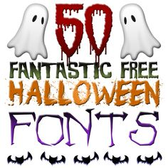 Do you have some Halloween Projects to do? Do you need some special Fonts? Well here are 50 Fantastic FREE Halloween Fonts for you to create with! ENJOY!!