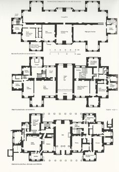 english manor house plans - Google Search