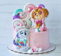 Girls Paw Patrol Cake, Skye Paw Patrol Cake, Torta Paw Patrol, Paw Patrol Birthday Girl, Bolo Da Peppa Pig, 4th Birthday Cakes, Festa Party, Cake Pictures, Occasion Cakes