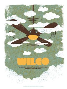 Wilco poster: One for Marcus.