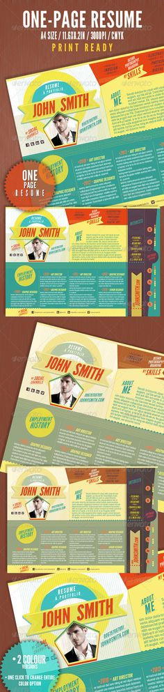 Vice Dj   Musician OnePage Resume Indesign Template Indesign - one page resume