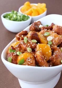 This Mandarin Orange Chicken is my twist on one of our favorite Chinese food dinners - orange chicken.