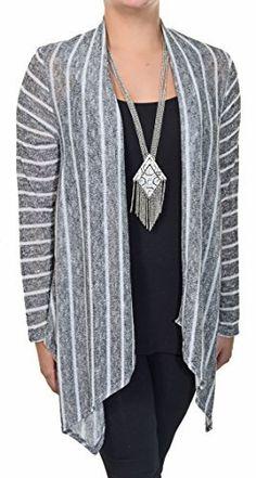 Carrie Allen Sparkle Stripe Cardigan  Price : $29.88 http://www.threadsonsale.com/Carrie-Allen-Sparkle-Stripe-Cardigan/dp/B00PJATO5S