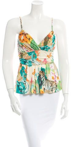Blumarine Silk Top