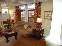 Lovely, cozy living room