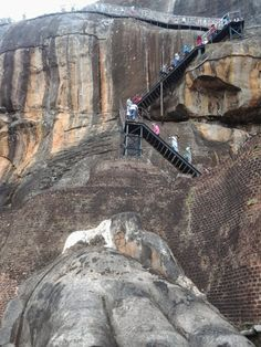It's in the Sri Lanka. Sigiriya. Unesco