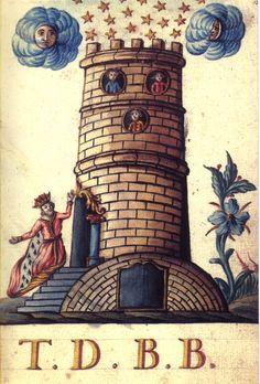 Mutus Liber Latomorum Tour de Babel Maison Dieu