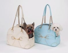 Fur My Pet - Cream Soho Ostrich Carrier by New York Dog, $130.00 (http://www.furmypet.com/cream-soho-ostrich-carrier-by-new-york-dog/)