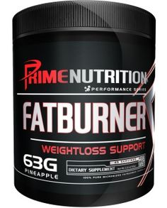 Prime Nutrition Fat Burner.  Think you've tried every weight loss supplement on the market? Try again!  Fat Burner is the only product on the market that backs up what it claims. We pack more high quality ingredients per serving than any other product in its class. Give Fat Burner one try and you'll be a fan and supporter for a lifetime.