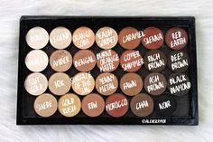 PALETTE1NAMES Body Makeup, Beauty Makeup, Eye Makeup, Hair Makeup, Makeup Stuff, Orange Sorbet, Orange Soda, Z Palette, Eyes Lips Face