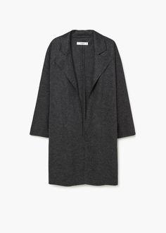 Jachetă lână revere