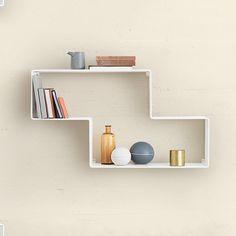 Shop SUITE NY for the Dedal Bookshelf designed by Mathieu Matégot for GUBI and more midcentury designer furniture including metal shelving and wal mount shelvin