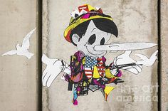Bansky graffiti in Palestine