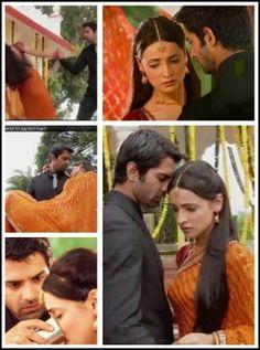 Khushi faints and Arnav saves her Best Love Stories, Love Story, Arnav Singh Raizada, Shrenu Parikh, Arnav And Khushi, Indian Drama, Soap Opera Stars, Sanaya Irani, Save Her