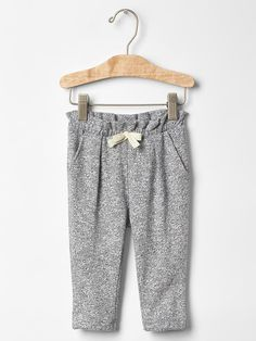 Marled soft pants Product Image