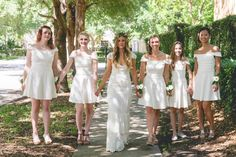 Designer/Planner: Dandy Details Events Always Have Your Girls By Your Side. Beautiful Bridesmaids Photos