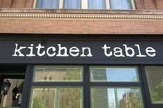Kitchen Table Omaha. Such a great concept with EXCELLENT food. (hint: try going on lasagne night!)
