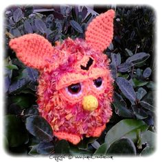 Ravelry: Mon Furby au crochet pattern by Menard Aleksandra (Tiamat Creations)
