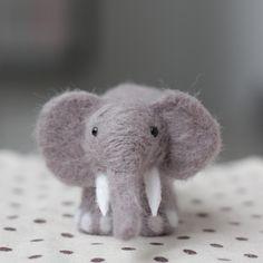 Feltro de lã kits decoração elefante ----