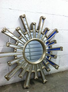 sunburst-inspiration for smaller collage canvas?