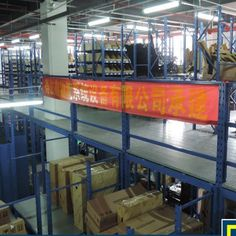 Heavy Duty Warehouse Rack Mezzanine /Bookshelf Usage : Industrial, Warehouse Rack. Material : Steel. Structure : Rack. Type : Multi-Level Racking. Mobility : Adjustable. Height : Sizes Can Be Customized. Weight : 500-4000kg/Level. Closed : Open. Development : New Type. Serviceability : Common Use. Warranty : 10 Years. Certification : ISO9001/ISO14001/ISO18001. MOQ : 50 Square Meters. Heavy duty Warehouse Rack Mezzanine/Bookshelf Loft-style shelf structure: The steel structure floor with… Lifting Platform, Shelf Board, Floor Slab, Loft Style, Steel Structure, Storage Shelves, Bookshelves, Warehouse, Flooring