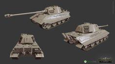 "ArtStation - Tank E75 for ""World of Tanks"" XBOX One Edition, Timur Tursunov"