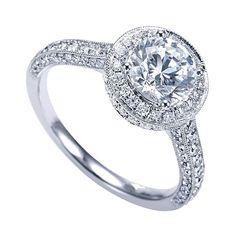 Genesis Designs ER7489,  $1600  Love,  Genesis Diamonds  www.genesisdiamonds.net  #genesisdesigns #stunning #lovely