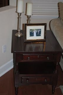 Living Room Broyhill by House of Thrifty DecorUnder $500 Room Make Over