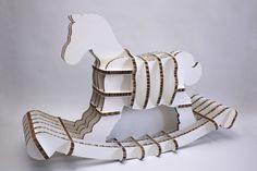 REGGIE THE ECO ROCKER by Shell Thomas, an Australian product designer based in London