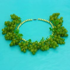 Necklace Grape, from the fruit collection... more fruit on http://inekeottejewelry.com/
