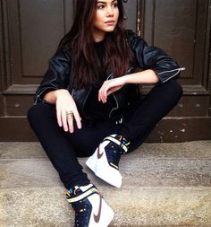Urban/street fashion, nike givenchy, black and white, blvck fashion