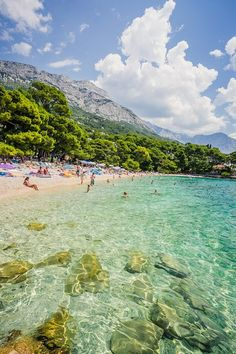 Brela beach, Croatia