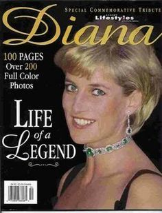 Princess Diana  Cover story by dawngallick