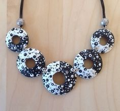 Necklace by CHEZ BENE | Polymer Clay Planet