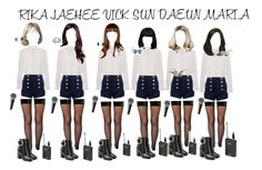 Cover Stage [Sorry Sorry + I AM THE BEST + I Got A Boy ] by starz-official on Polyvore featuring polyvore fashion style Frame Denim Leg Avenue Pierre Balmain Alexander Wang Guide London clothing