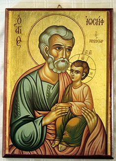 St Joseph & Jesus.