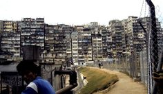 Walled City - Kowloon. Not a place to go wandering